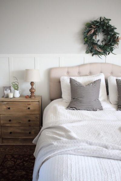 Winter Bedroom Refresh