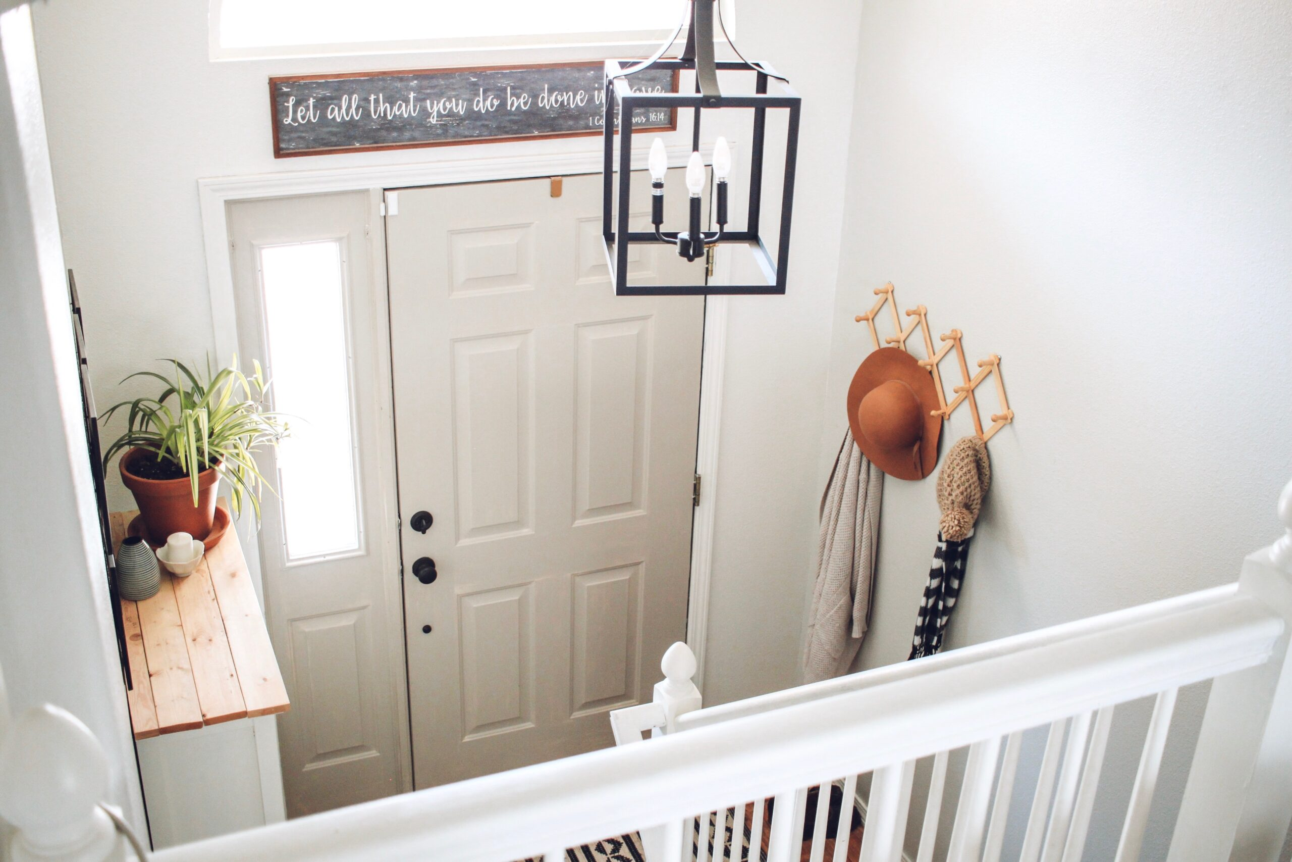 Simple and Affordable Foyer Refresh